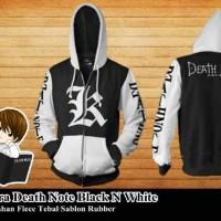 Jual Jaket Kira Death Note Black N White Murah