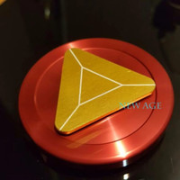 Jual New Fidget Spinner Iron Man Shield - Full Alumunium Murah