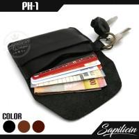 Jual Dompet STNK Kunci Kulit Sapi Vintage Slim Cowhide Key Wallet (PH-1) Murah