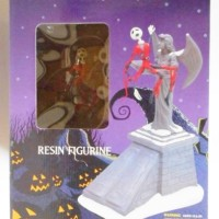 Jual NIGHTMARE BEFORE CHRISTMAS Santa Jack & Goddess Resin Statue Figure Ju Murah
