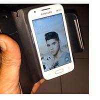 "UNIVERSAL LEATHER  CASE  KALAIDENG  UNTUK SMARTPHONE 3.5"""