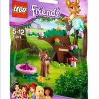 LEGO Friends-41023 Fawn's Forest Animal Friend Toy Girl Fawn Series 3