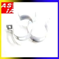 Harga kleman knalpot aksesoris sparepart sepeda motor | antitipu.com