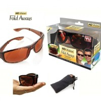 HD Vision Fold Aways Outdoor Sport High Definision Sunglasses