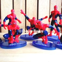 Set Figure Spiderman ( 7 Karakter )