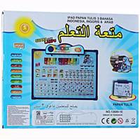 Jual mainan edukasi anak MAINAN ANAK Playpad Muslim Anak 3 Bahasa + Papan T Murah