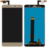 Jual jaz- Xiaomi Redmi Note 3 LCD   Touchscreen (Gold) Original New Murah