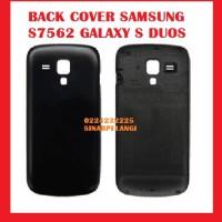 Back Door Back Cover Samsung S7562 Galaxy S Duos Black Ori 900399