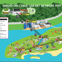 Harga jual tiket sentosa singapore cable car skypass 2 way anak open | antitipu.com