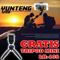 Jual Tongsis Bluetooth / Monopod YunTeng YT-1288 Free Mini Tripod Murah