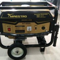 Genset Maestro MT4000L 2.500w 100% Tembaga, 4Tak, Garansi, SEMARANG