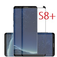 Samsung Galaxy S8+ Plus - Case Friendly 3D Curved Tempered Glass