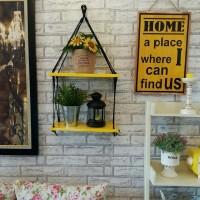 Jual Rak Dinding Gantung Minimalis (All Colour)  / Home Decor - Shabby Chic Murah