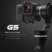 Jual Feiyu Tech G5 3-Axis Handheld Gimbal Waterproof for GoPro Hero 5-4-3 - Murah