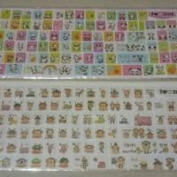Stiker Keyboard Murah Panda & Paul Frank