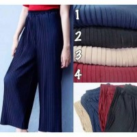 Jual promo celana kulot murah panjang / celana kulot plisket/celana muslim Murah