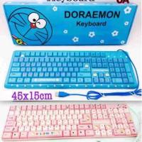 Jual keyboard hello kitty, doraemon Murah