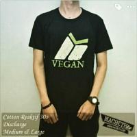 Jual Kaos Super Premium - Vegan kode A1 Murah