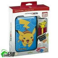 Jual 3DS/XL Game Traveler Essentials Pack - Blue with Pikachu Murah