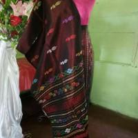 Jual Songket Tarutung Bunga Rose Murah