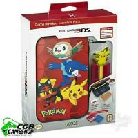 Jual 3DS/XL Pokemon Sun & Moon Starter Kit-Pokemon Group and Pikachu Stylus Murah