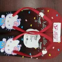 Jual sandal hello kitty / sandal hk /sanrio Murah