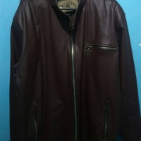 jaket kulit oscar second bekas
