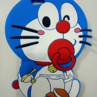 Jual Case 4D Doraemon Krayon New/Oppo /F1S/A39/Karakter/Soft/Silikon/3D/Rub Murah