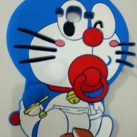 Jual Case 4D Doraemon Krayon New/Samsung J5 2015/Karakter/Soft/Silikon/3D/R Murah