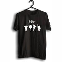 Jual Kaos The Beatles Hands Up Murah