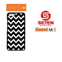 Jual Casing Xiaomi Mi5 pattern white and black Custom Hardcase  Murah
