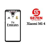 Jual Casing Xiaomi Mi4 real madrid white 2 Custom Hardcase  Murah