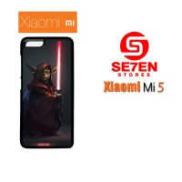 Jual Casing Xiaomi Mi5 Yoda dark side Star Wars Custom Hardcase  Murah