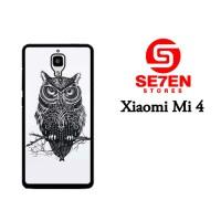 Jual Casing Xiaomi Mi4 owl Custom Hardcase  Murah