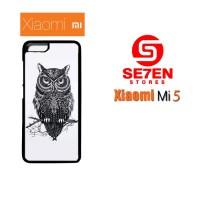 Jual Casing Xiaomi Mi5 owl Custom Hardcase  Murah