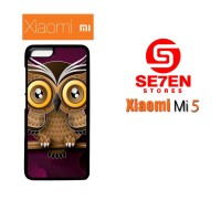 Jual Casing Xiaomi Mi5 Owl color Custom Hardcase  Murah