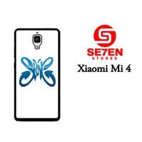 Jual Casing Xiaomi Mi4 Slank 2 Custom Hardcase  Murah