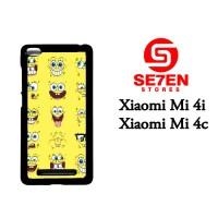 Jual Casing Xiaomi Mi4i, Mi4c Spongebob faces Custom Hardcase  Murah