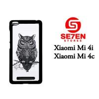 Jual Casing Xiaomi Mi4i, Mi4c owl Custom Hardcase  Murah