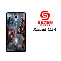 Jual Casing Xiaomi Mi4 Top Captain America Civil War Custom Hardcase  Murah