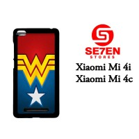 Casing Xiaomi Mi4i, Mi4c Wonder Woman logo Custom Hardcase