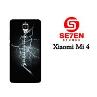 Jual Casing Xiaomi Mi4 metallica wallpaper Custom Hardcase  Murah