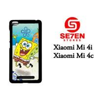 Jual Casing Xiaomi Mi4i, Mi4c SpongeBob 2 Custom Hardcase  Murah