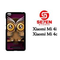 Jual Casing Xiaomi Mi4i Owl color Custom Hardcase  Murah