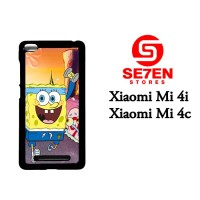 Jual Casing Xiaomi Mi4i, Mi4c Racing SpongeBob Custom Hardcase  Murah