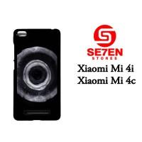 Jual Casing Xiaomi Mi4i Jet Black dye Custom Hardcase  Murah
