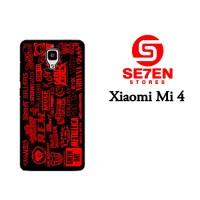 Jual Casing Xiaomi Mi4 music band Custom Hardcase  Murah