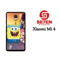 Jual Casing Xiaomi Mi4 Racing SpongeBob Custom Hardcase  Murah