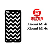 Jual Casing Xiaomi Mi4i, Mi4c pattern white and black Custom Hardcase  Murah