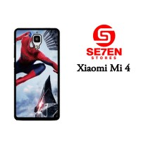 Jual Casing Xiaomi Mi4 amazing spider man action Custom Hardcase  Murah